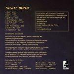 Ed Gerhard Night Birds Track Listing